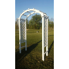 White Lattice Arch