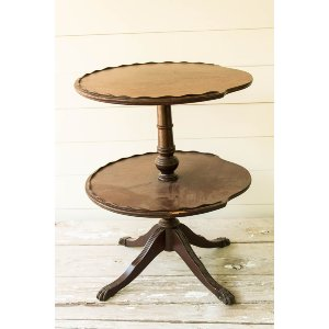 Mr. Darcy-2 Tiered Side Table