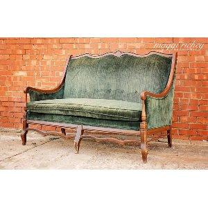 Emerald Love Seat