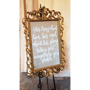 Chalkboards, Signs & Mirrors