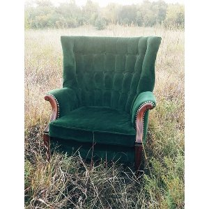 Mermaid  Green Chair