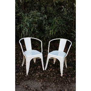 White Tolix Side Chairs