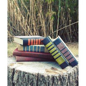 Vintage Books - Multi Colored