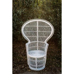 Sage Peacock Chair