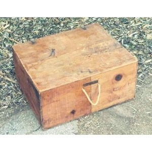 Vintage Crate - Handle & Lid