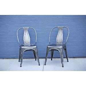 Gunmetal Tolix Chairs
