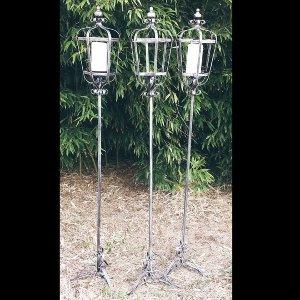 Metals-Standing Lantern