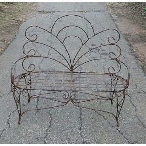 Rod Iron Bench