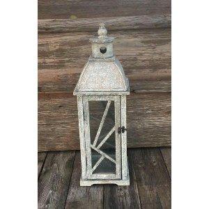 Gray & White Lantern