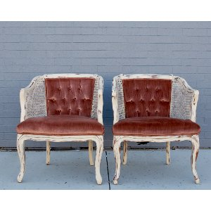 Blush & Bashful Chairs (Pair)