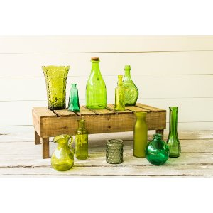 Green Glass Collection - Various