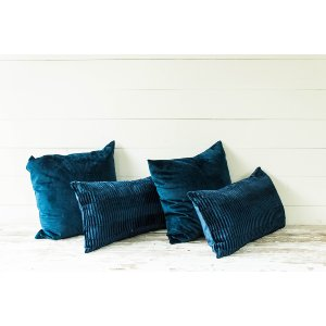 Navy Pillow Collection