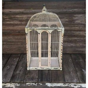 Vintage Ornate Bird Cage