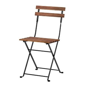 Slat Folding Chair