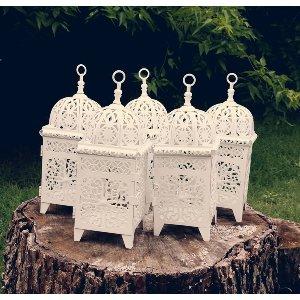White Fancy Lantern Mini