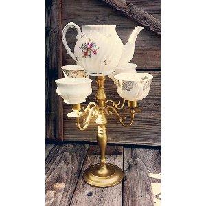 Tea Set Candelabra