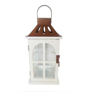 Copper & White Lantern - Small
