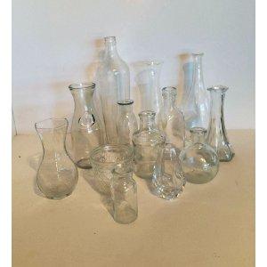 Glass Bud Vases Misc.