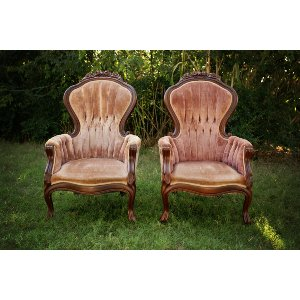 Cagney & Lacey Chairs (Pair)