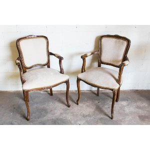 His & Hers Chairs