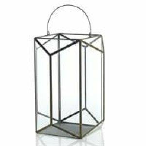 Ceremony Glass & Brass Lanterns - XXL