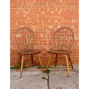 Wooden-Spindle Chairs
