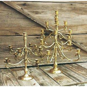 Brass Multi Arm Candelabra