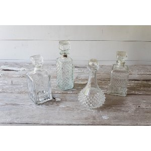Glass Etched Decanters