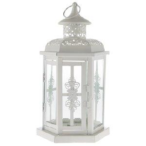 White Fancy Lanterns - Table Top