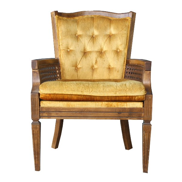 Marigold Cained Arm Chair