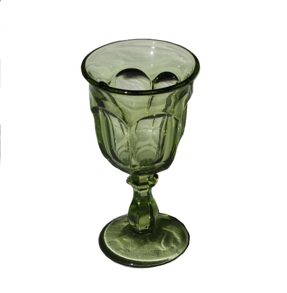 Basil Green Goblet