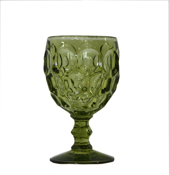 Crocodile Green Goblet