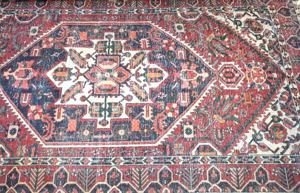 Red and Gold Rug (12)