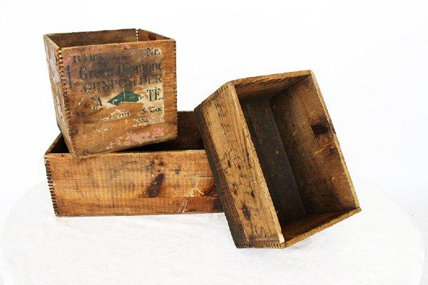 Wooden Box Large + Medium
