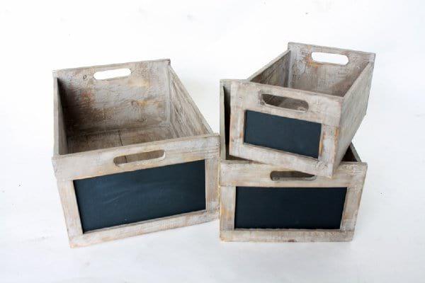 Chalkboard Boxes
