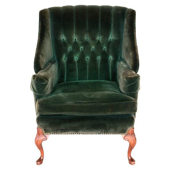 Green Clive Chair