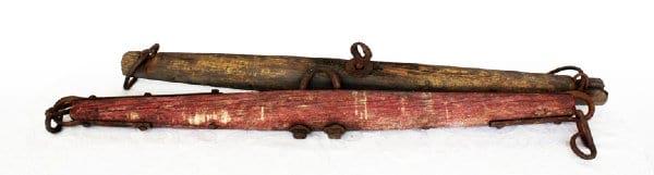 Wooden Nautical Buoys/Poles