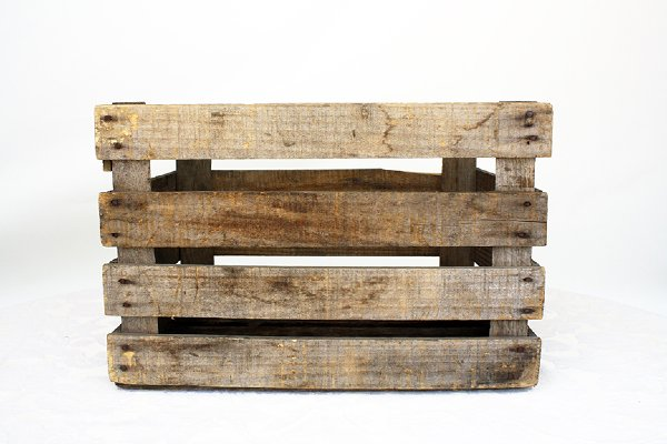 Apple Crate Old