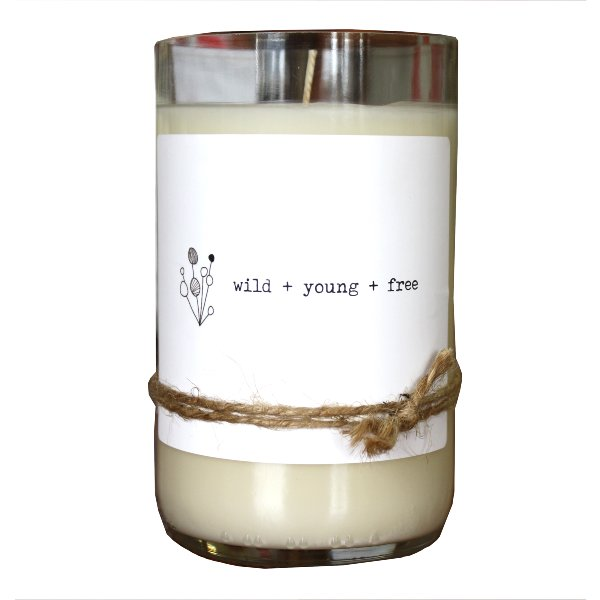 Wild Young Free Candle