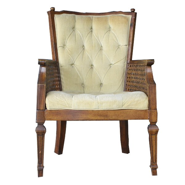 Cained Arm Chair