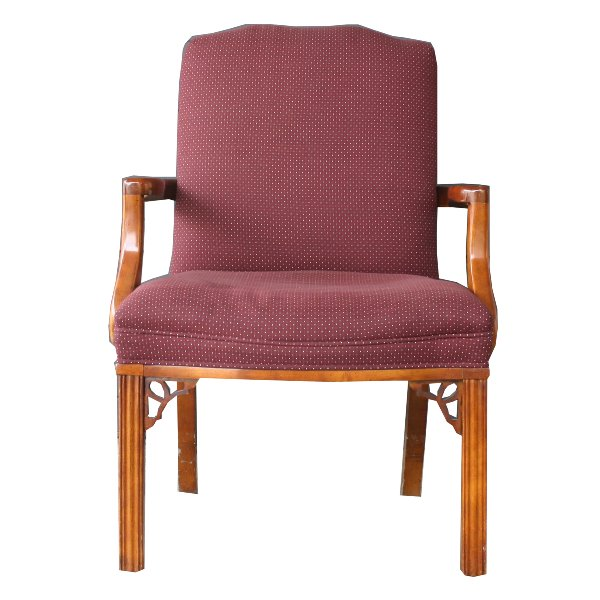 Val Burgundy Chair