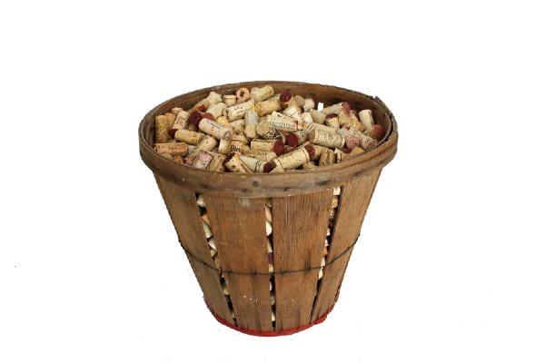 Wooden Bushel Basket