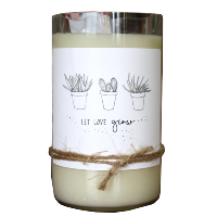 Let Love Grow Candle