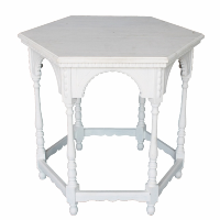 White Wash Octagon