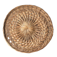 Woven Basket Tray