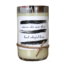 Colorful Lives Candle
