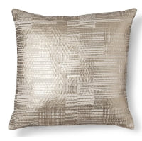 Gold Foil Throw Pillow