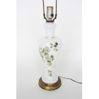 Floral Pattern Lamp