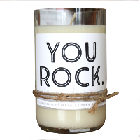 You Rock Candle