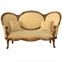 Gold Leaf Couch